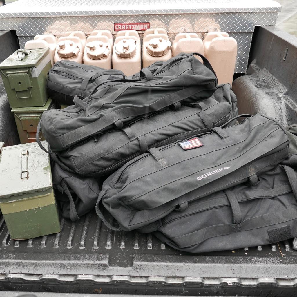 Sandbag Bundle - 60LB Black (Incl. 60LB Filler Bag)