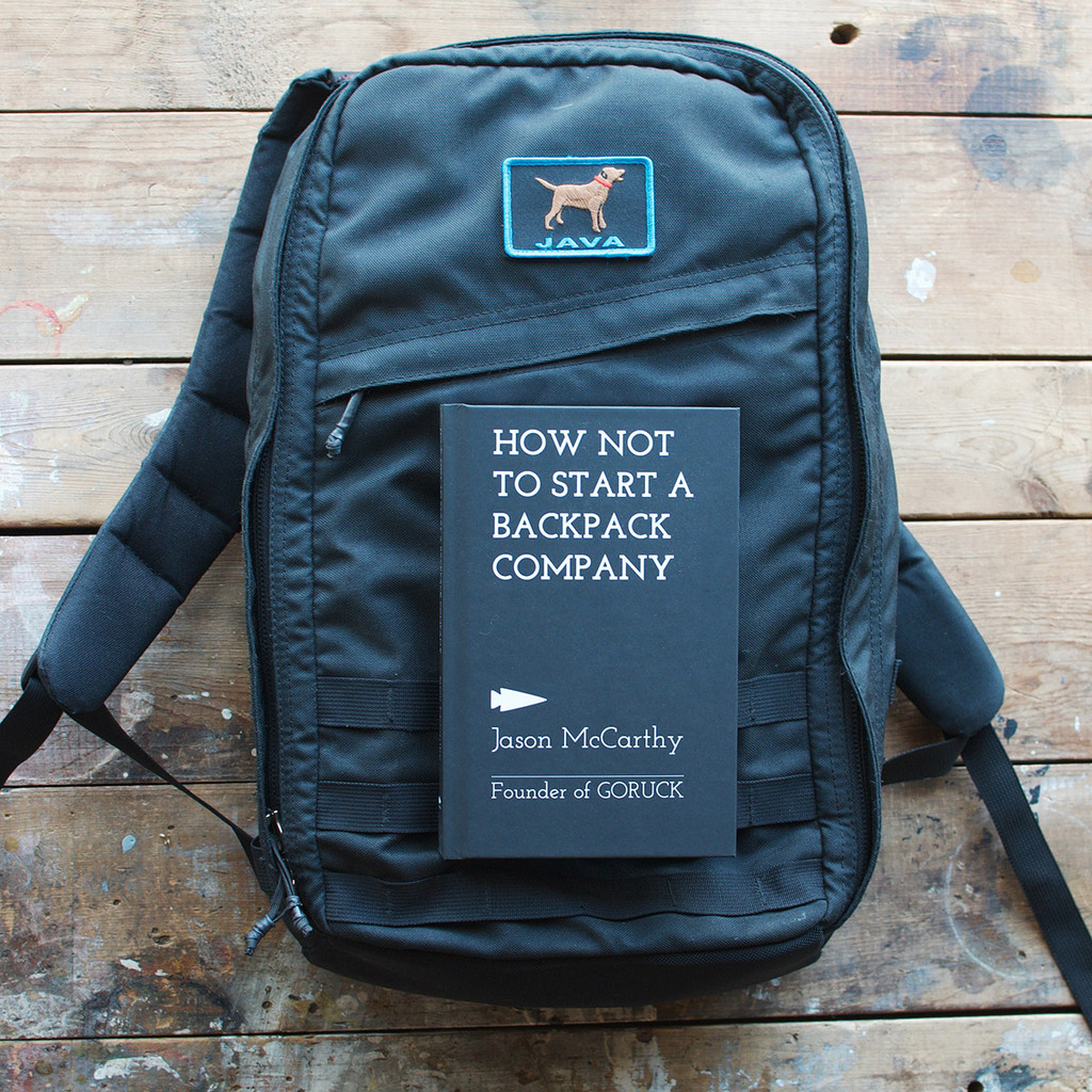 How Not to Start a Backpack Company (Limited Edition Hardback + Patch)