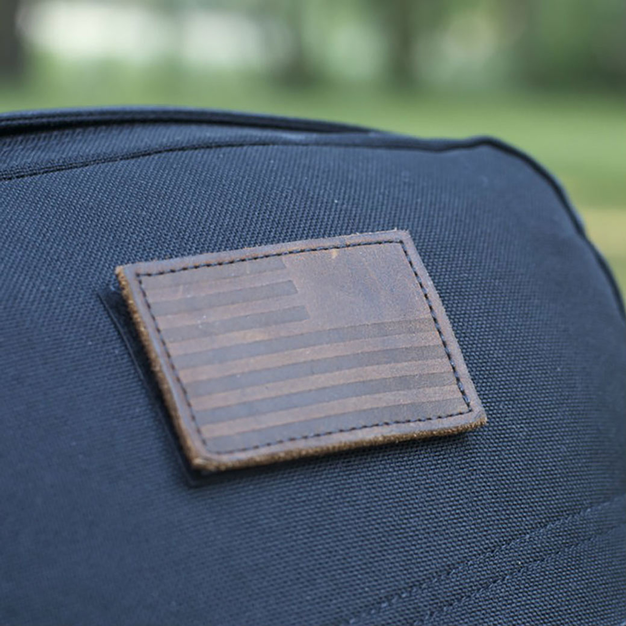 Patch - Leather Reverse Flag - GORUCK 08d7c81dad