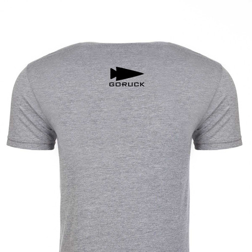 T-shirt - GORUCK USA (Black & Grey)