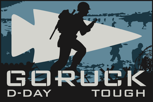 Patch for Tough Challenge: San Diego, CA (HTL D-Day Memorial 75th Anniversary) 06/01/2019 22:00