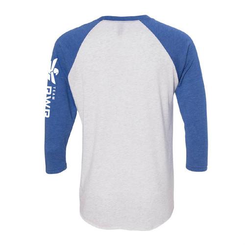 Baseball 3/4 Sleeve Shirt - Eagle Up