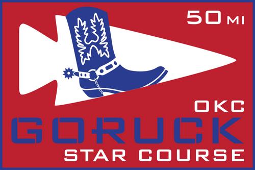 Patch for Star Course- 50 Miler: Oklahoma City, OK 03/08/2019 21:00