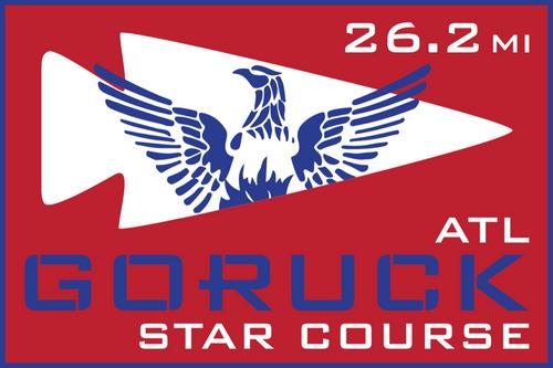 Patch for Star Course - 26.2 Miler: Atlanta, GA 03/09/2019 07:00