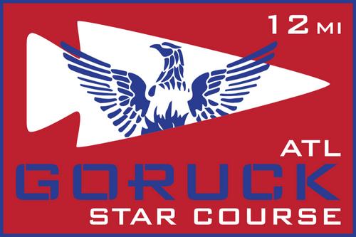 Patch for Star Course - 12 Miler: Atlanta, GA 03/09/2019 13:00