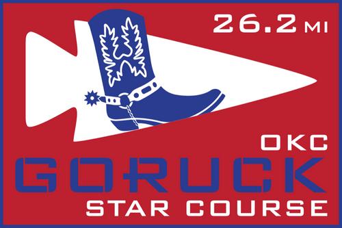 Patch for Star Course - 26.2 Miler: Oklahoma City, OK 03/09/2019 07:00