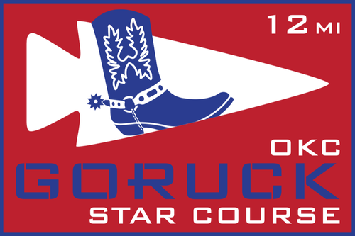 Patch for Star Course - 12 Miler: Oklahoma City, OK 03/09/2019 13:00