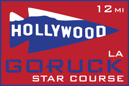 Patch for Star Course - 12 Miler: Los Angeles, CA 03/09/2019 13:00