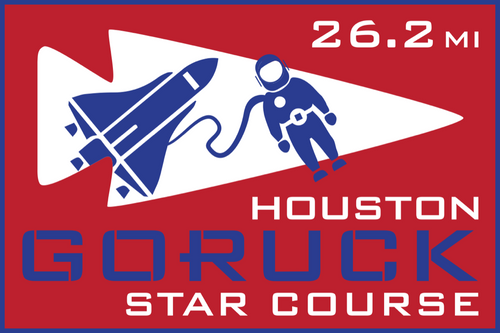 Patch for Star Course - 26.2 Miler: Houston, TX 06/22/2019 07:00