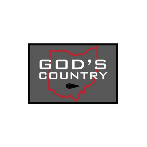 Bundle - God's Country T-shirt + Patch (PRE-ORDER)