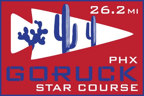 Patch for Star Course - 26.2 Miler: Phoenix, AZ 10/10/2020 06:00