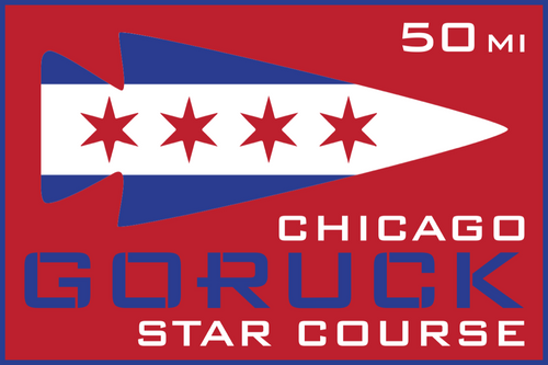 Patch for Star Course - 50 Miler: Chicago, IL 06/05/2020 21:00