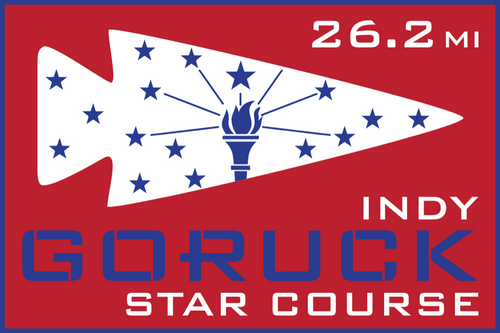 Patch for Star Course - 26.2 Miler: Indianapolis, IN 10/24/2020 06:00