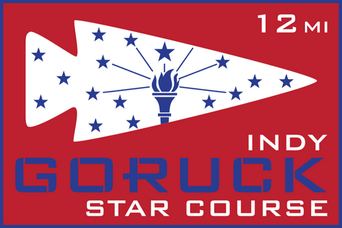Patch for Star Course - 12 Miler: Indianapolis, IN 10/24/2020 12:00