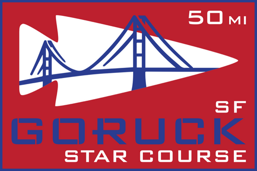 Patch for Star Course - 50 Miler: San Francisco, CA 08/14/2020 21:00