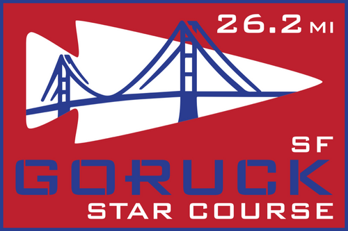 Patch for Star Course - 26.2 Miler: San Francisco, CA 08/15/2020 06:00