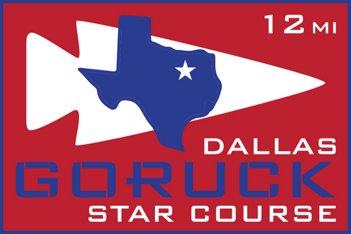 Patch for Star Course - 12 Miler: Dallas, TX 10/10/2020 12:00