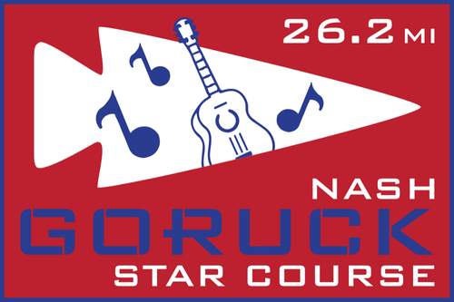 Patch for Star Course - 26.2 Miler: Nashville, TN 11/07/2020 06:00
