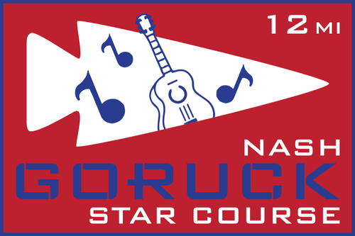Patch for Star Course - 12 Miler: Nashville, TN 11/07/2020 12:00