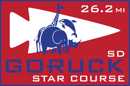 Patch for Star Course - 26.2 Miler: San Diego, CA 11/07/2020 06:00