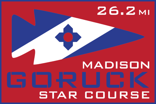 Patch for Star Course - 26.2 Miler: Madison, WI 10/17/2020 06:00