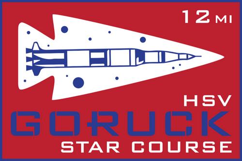 Patch for Star Course - 12 Miler: Huntsville, AL 10/24/2020 12:00