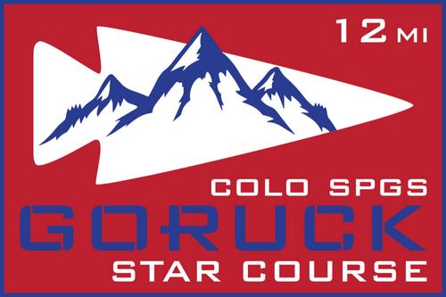 Patch for Star Course - 12 Miler: Colorado Springs, CO 09/26/2020 12:00