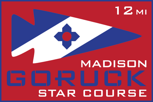 Patch for Star Course - 12 Miler: Madison, WI 10/17/2020 12:00