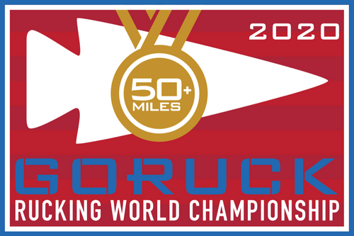 Patch for Rucking World Championship: Washington, DC 11/20/2020 21:00