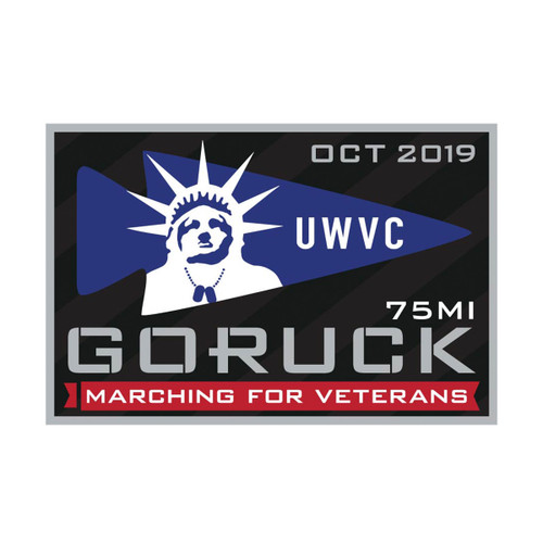 Patch - Marching for Veterans