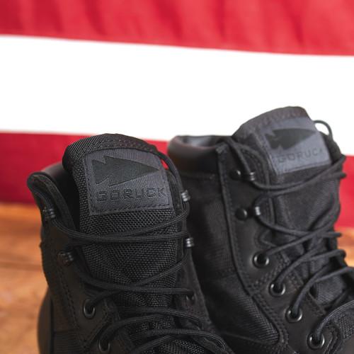 "MACV-1 - 6"" Black Leather"