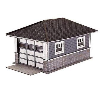 Atlas 2860 N Scale Barb's Bungalow Garage Wooden Kit