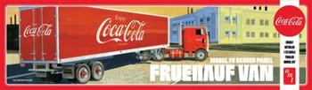 AMT 1109 1:25 Fruehauf Beaded Van Semi Trailer (Coca-Cola) Model Kit