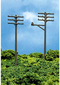 Atlas 2801 N TELEPHONE POLES (12 Poles Per Pack)
