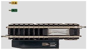 Marklin 8587 Z Scale Straight Ncoupler Track, 2-3/16-Inch