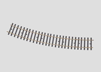 Marklin 59073 G1 Curved track 22,5 Degree 1394 mm(H1041-2)