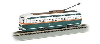 Bachmann 60504 HO Scale Chicago - PCC Streetcar DCC Sound Value