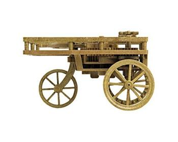 Academy 18129 Da Vinci Self Propelling Cart Kit