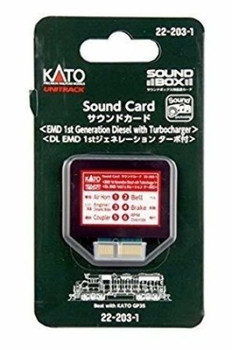 Kato 222031 EMD3 1ST GEN DSL Sound Card