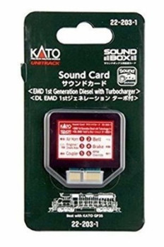 Kato 222031 EMD3 1ST GEN DSL Sound Card
