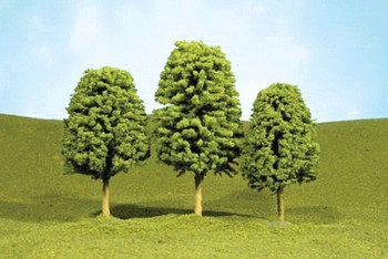 Bachmann 32106 N Scale 2 inches 3 inches Deciduous Trees 4 Per Box