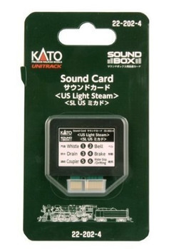 Kato KAT222024 Sound Card, US Light Steam