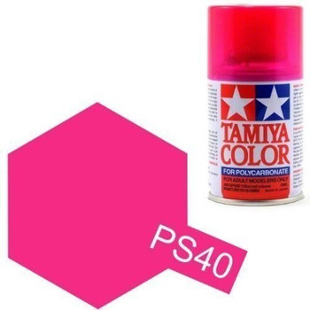 Polycarbonate PS-40 Translucent Pink, Spray 100 ml