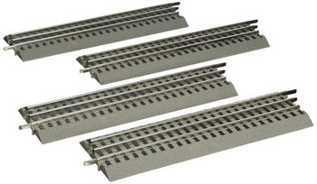 Lionel 12032 O Scale FasTrack - O-Gauge Straight Track - 4 Pack
