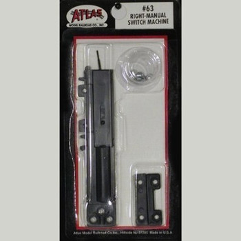 Atlas 63 HO Code 100 Manual Right-Hand Switch Machine