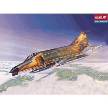 Academy 12605 1:144 Scale Kit F-4E Phantom II