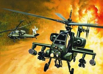 Italeri - Ah-64a Apache 1:72 Scale