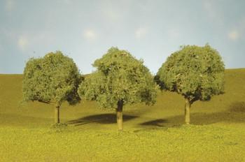 """Bachmann 32113 N Scale Scene Scapes Trees 2""""- 2"""" Oak Trees N  Train (4 Piece)"""