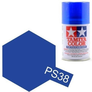 Polycarbonate PS-38 Translucent Blue, Spray 100 ml