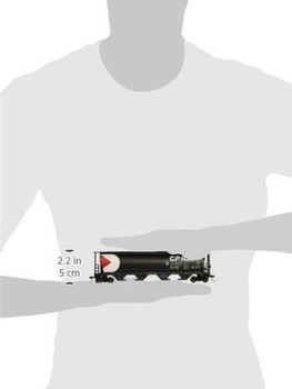 Bachmann 19129 HO Scale Canadian Pacific 4 Bay Cylindrical Grain Hopper